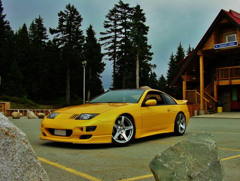 1990 Nissan 300zx Twin Turbo Show Winner Fully Restored 600hp Outside Victoria Victoria
