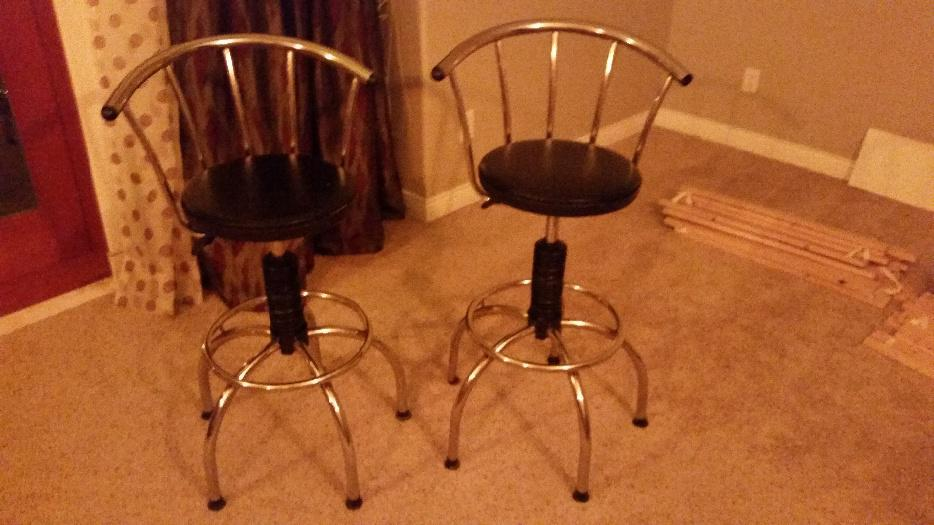 Fancy Bar Stools West Shore Langford Colwood Metchosin