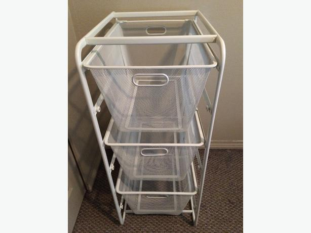 SOLD   IKEA ALGOT Basket Drawer Closet Storage Unit