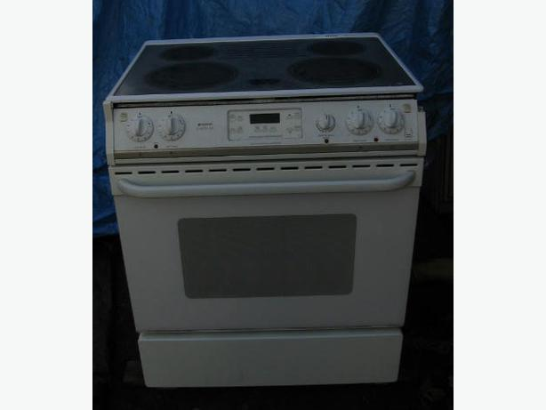 Glass Top Electric Stove ~ Electric glass top stove frigidaire gallery white