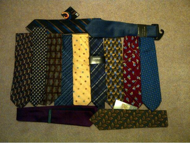 New Men's Silk Ties