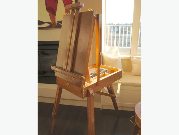 Portable french sketch box easel victoria city victoria for Ptable french