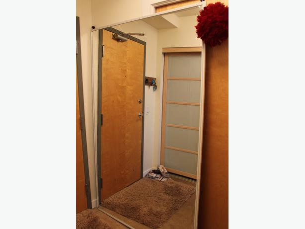 sliding closet doors and track 96 wide by 82 high opening victoria city victoria. Black Bedroom Furniture Sets. Home Design Ideas