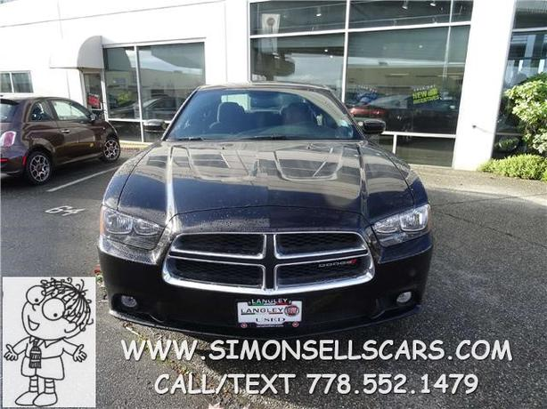 2014 Dodge Charger Sxt Super Sporty Langley Vancouver