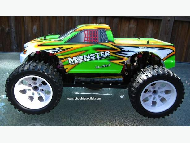 NEW RC MONSTER TRUCK 1/10 Scale ELECTRIC , 4WD 2.4GHz
