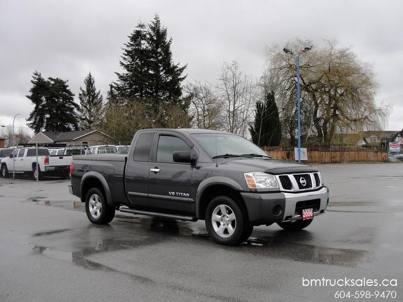 Nissan Campbell River >> 2006 NISSAN TITAN SE EXTENDED CAB 4 WHEEL DRIVE Surrey (incl. White Rock), Vancouver