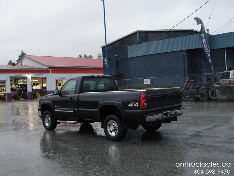 Chevrolet Silverado 2500hd Gatineau >> 2007 CHEVROLET SILVERADO 2500HD REGULAR CAB LONG BOX 4X4 DIESEL Surrey (incl. White Rock), Vancouver