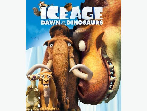 Ice Age Dawn of the Dinosaurs (blu-ray)