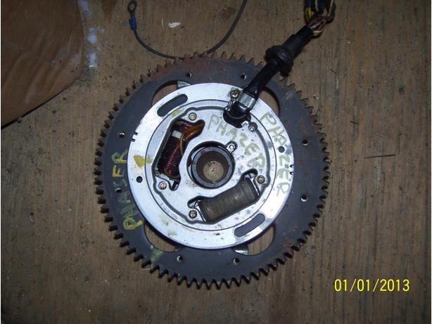 Yamaha Phazer Venture stator magneto ring gear