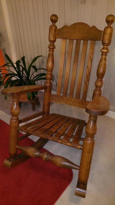 Jean Louis Houle Rocking Chair Victoria City Victoria