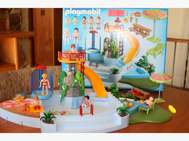 Pool With Water Slide Playmobil 4858 Saanich Victoria