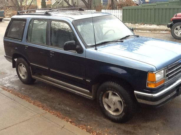 1991 ford explorer for sale north regina regina. Black Bedroom Furniture Sets. Home Design Ideas