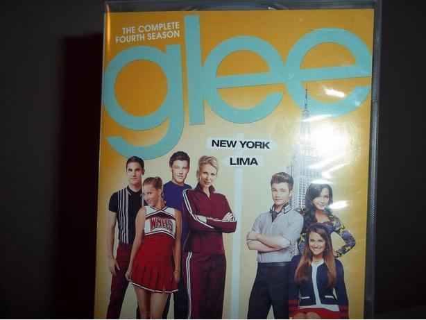 Glee the Complete Season 4 on DVD
