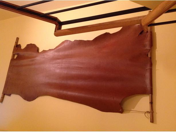 Brown Cow Leather Hide
