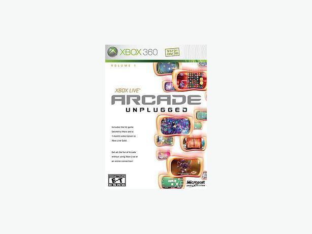 Xbox Live Arcade Unplugged