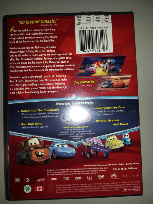 Used Cars Langley >> Cars (DVD, Fullscreen) South Nanaimo, Nanaimo