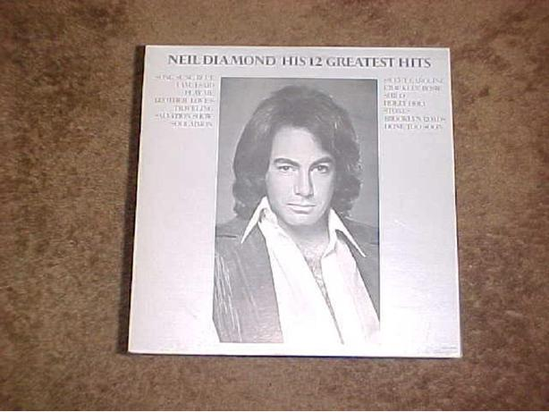 NEIL DIAMOND 12 GREATES HITS VINYL LP