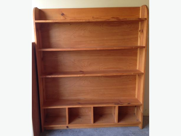 Solid Wood Bookcases: Solid Wood Bookcase Parksville, Nanaimo
