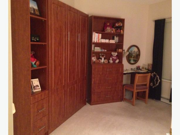 Murphy Beds Gatineau : New murphy bed with bookshelves end tables and desk