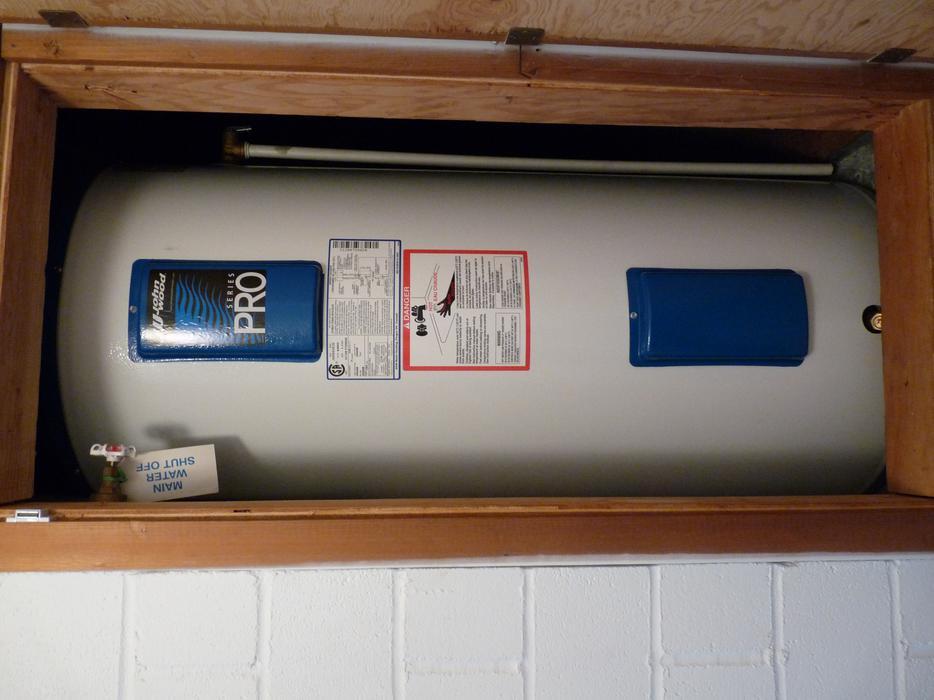 gsw hot water tank manual