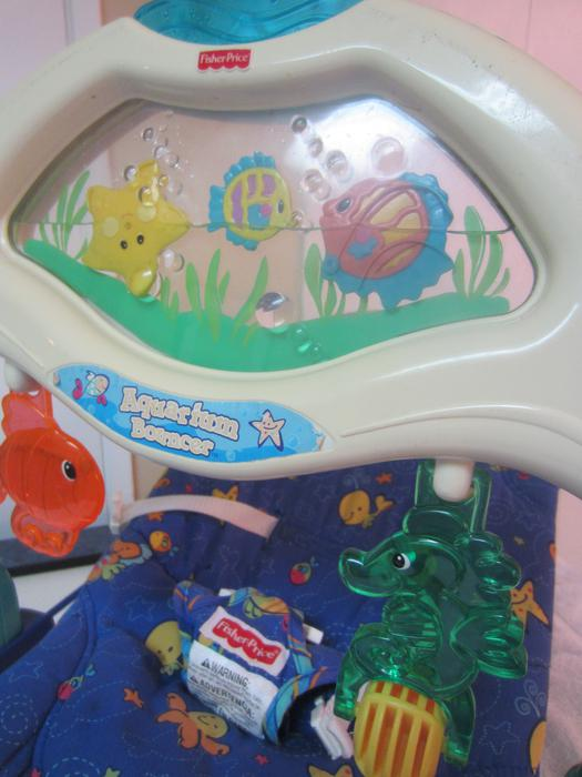 fisher price aquarium bouncer chair west shore langford colwood metchosin highlands