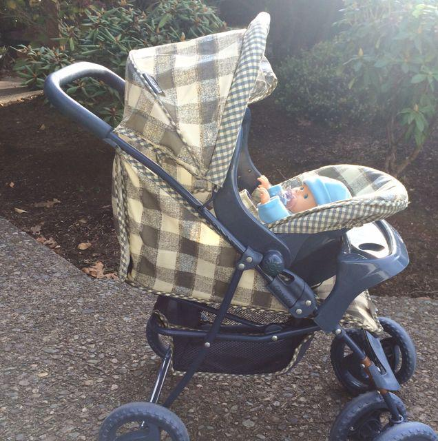 graco doll stroller and car seat saanich victoria. Black Bedroom Furniture Sets. Home Design Ideas