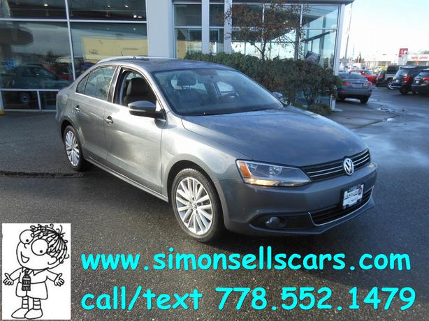 2012 vw jetta tdi super clean langley vancouver. Black Bedroom Furniture Sets. Home Design Ideas