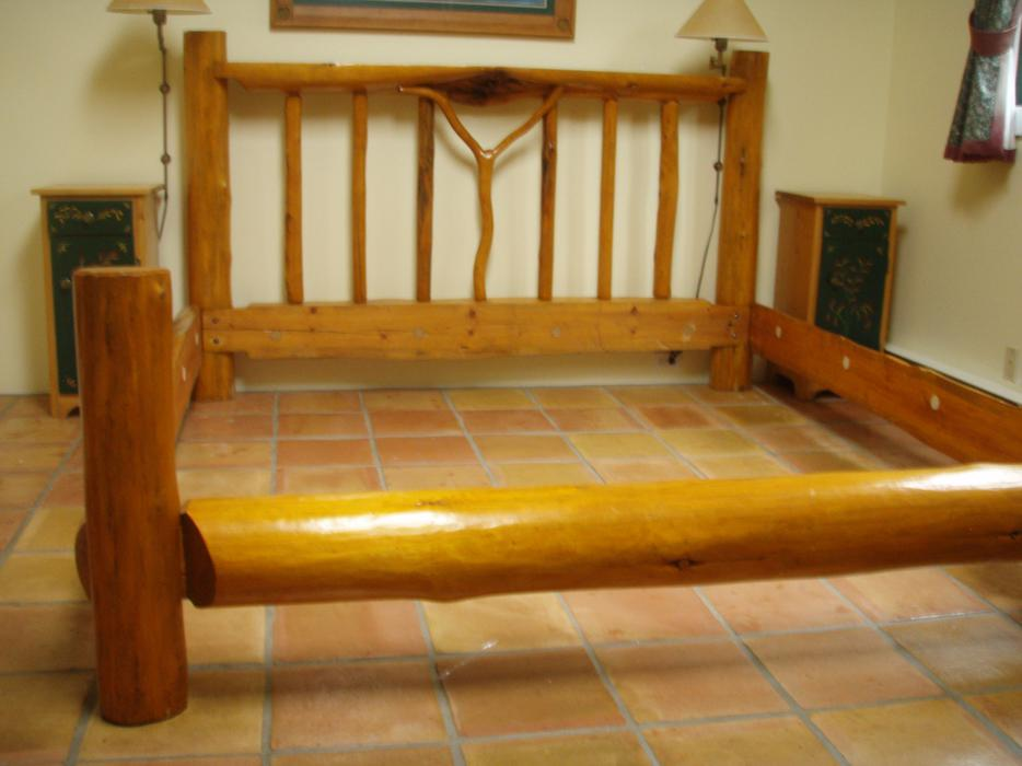 King Log Bed Frame Duncan Cowichan