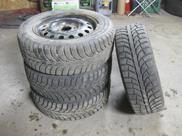 [4] - 195/60/15 - Champiro ICE PRO GT Radial Tires & Rims