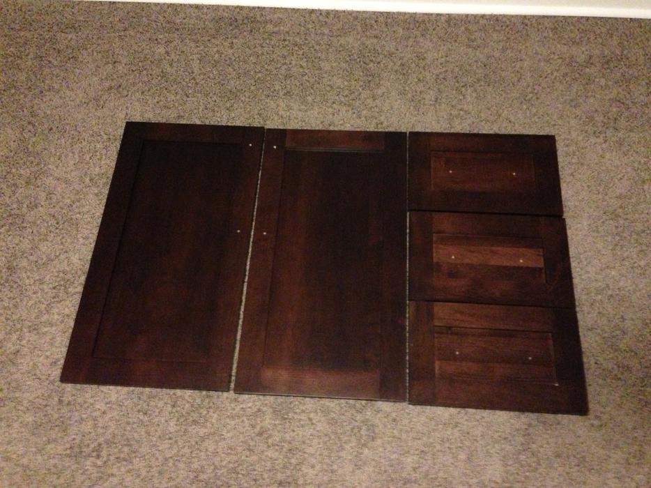Solid Maple Vanity Doors And Drawer Fronts Reduced East