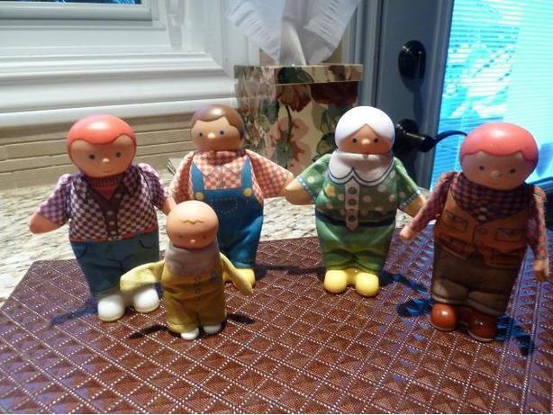 Vintage Monarch Toys 1992 Peeps people dolls
