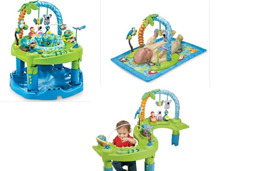 evenflo exersaucer triple fun jungle manual