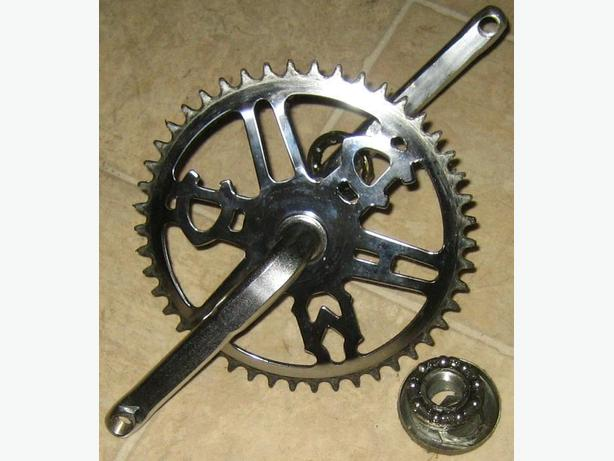CCM chrome crankset