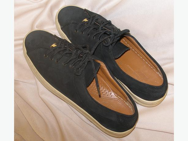 salvatore ferragamo suede sport tennis shoes
