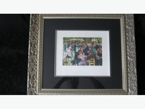 5 Limited Edition Renoir Etchings