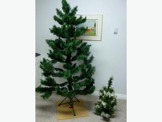 ARTIFICIAL SCOTCH FIR CHRISTMAS TREES Saanich, Victoria
