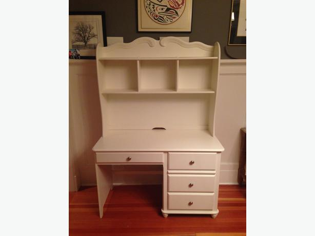 Beautiful White Desk Shelf Unit Victoria City Victoria
