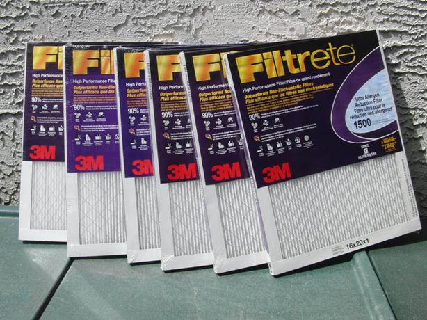 New 3 Filtrete Furnace Filters (16x20x1)