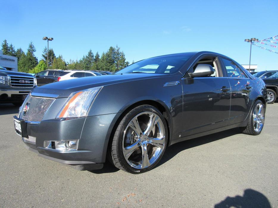 used 2009 cadillac cts awd in parksville outside cowichan. Black Bedroom Furniture Sets. Home Design Ideas