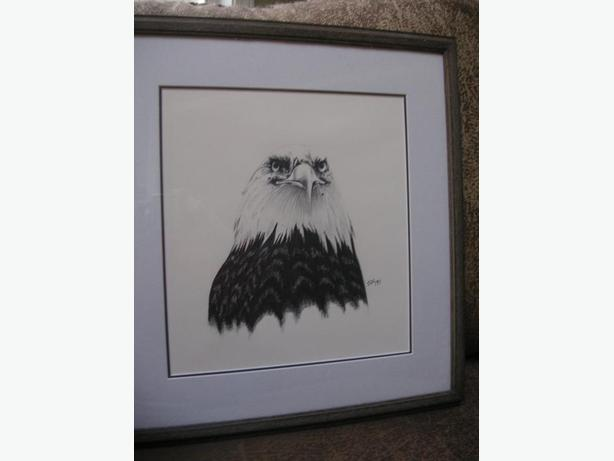 REDUCED    /ORIGINAL EAGLE DRAWING