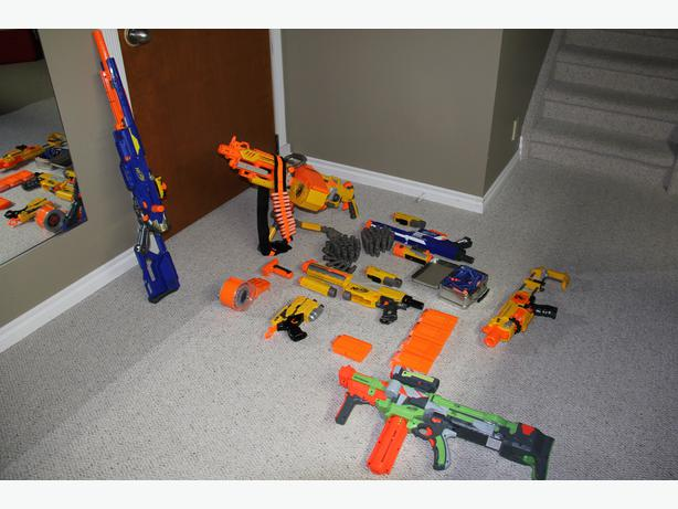 Nerf Guns and Accessories