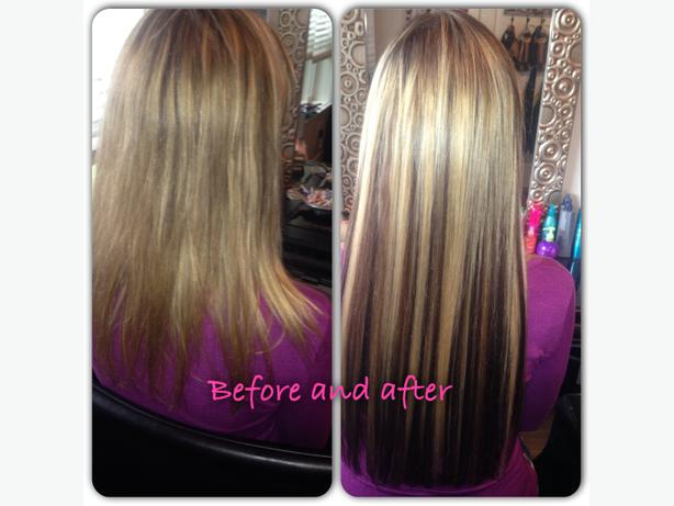 Hair Extensions Micro Link Tape Ins Fusions West Shore