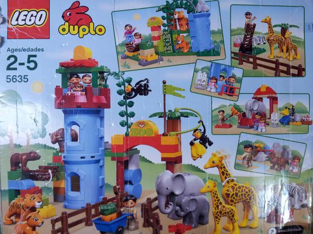duplo big city zoo instructions