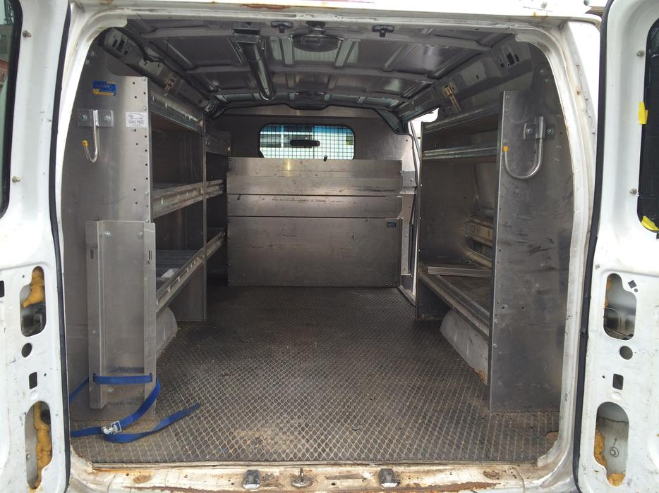 Ranger Ford E Series Cargo Van Interior Shelving Storage