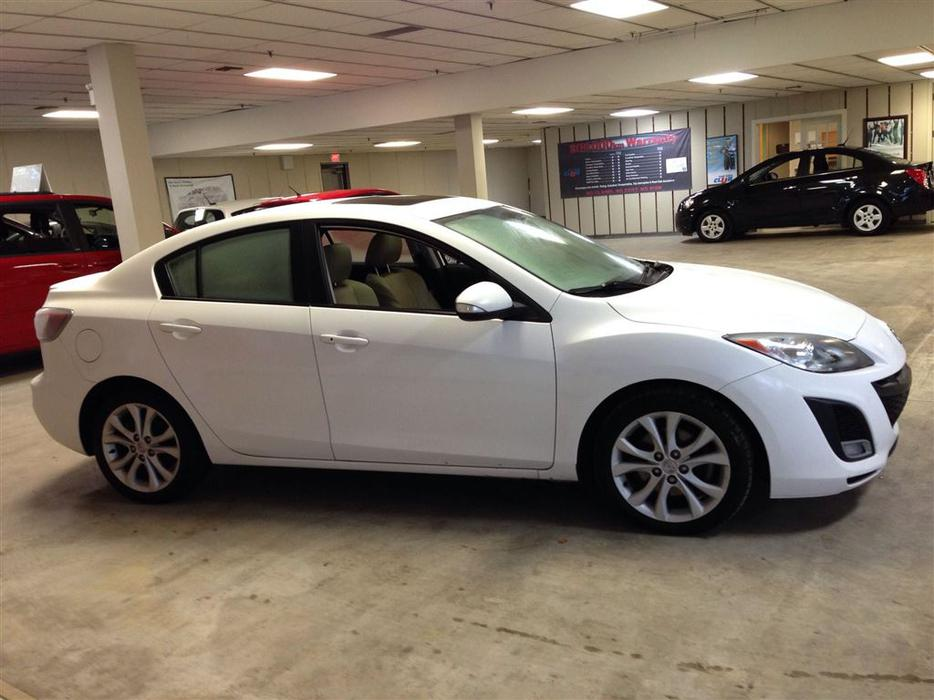 2010 Mazda 3 Gt Auto 96 Km S Sunroof Tan Leather Interior