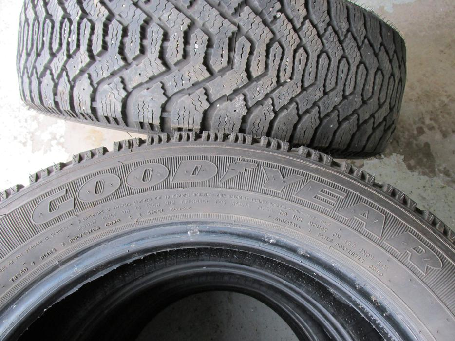 Used Tires Oshawa >> 4 Goodyear Nordic winter tires 205-55-16 Charlottetown ...