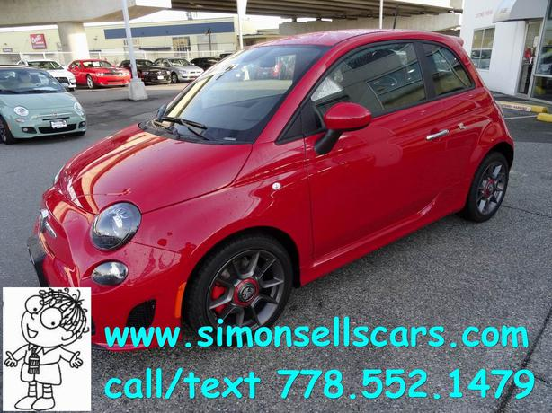 2015 Fiat Abarth Pre Owned Only 212kms Langley Vancouver