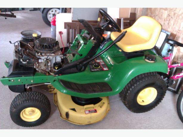 Garden Tractor Restoration Parts : John deere lawn tractor for repair or parts alberton pei