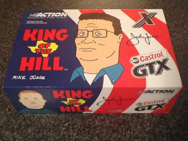 Action 1:24 Scale NHRA John Force King of the Hill Funny Car