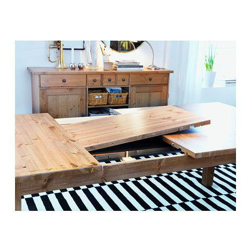 Ikea Stornas Extendable Dining Table Solid Pine Brand New